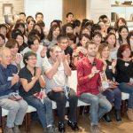 エルビオリス社来日ジェモラセラピーイベント(フランス)集合写真